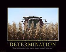 Farming Motivational Poster Art Print Poster Farmall IH Tractor 11x14 ...