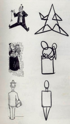 Some figures are made of a combination of these shapes. He also ...