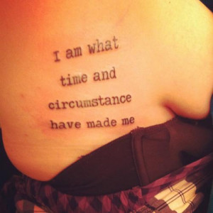 Shoulder Quote Tattoos