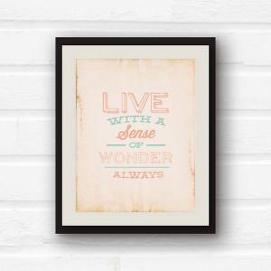 Inspirational Quote Home Decor - Nursery Decor - Kitchen Decor - Coral ...