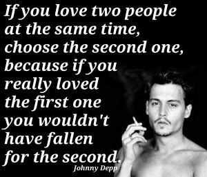 ... quotes about love and life. Quotes by Johnny Depp , American Actor