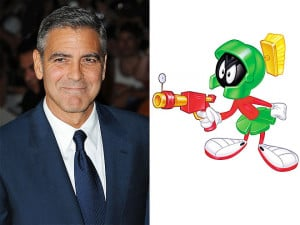 George Clooney solves the martian mystery, plus more from Scarlett ...