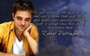 Thinking of Rob It's all about Robert Pattinson