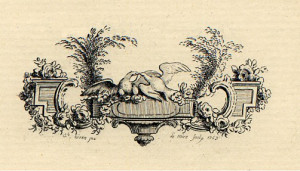 Illustration: decoration from Longus, Daphnis and Chloe:A Pastoral ...