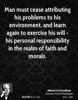 Albert Schweitzer Faith Quotes