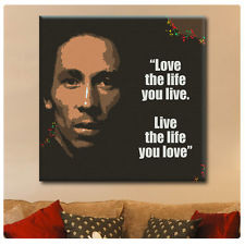 ... Bob Marley poster Inspiration Words Typography GICLEE photo Quote