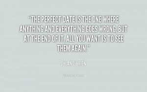 Perfect Date Quotes