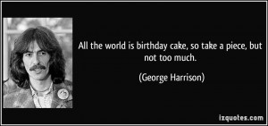 More George Harrison Quotes