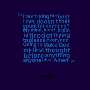 Quotes Picture: i'am trying the best i can, doesn't that count for ...