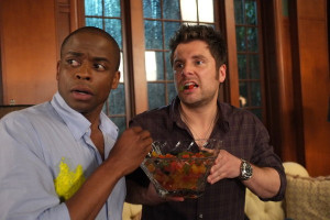 ... episode called 100 clues in which shawn james roday and gus dulé hill