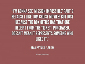 Quotes by Sean Patrick Flanery
