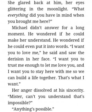 Redeeming Love quote. He knew she was the one. So he didn't doubt that ...