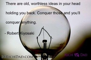 ... worthless ideas...   Robert Kiyosaki Free Video Series - Be Rich Dad