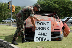Us Navy Crashed Car Dont Drink And Drive