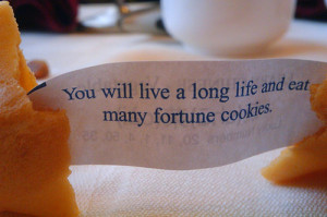 Very Funny Fortune Cookie Sayings…