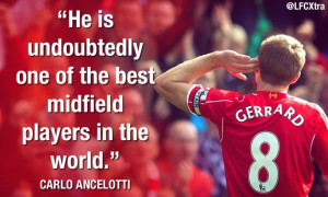 Ancelotti on Gerrard