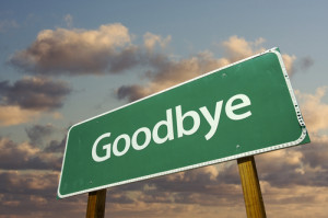 If you're brave enough to say goodbye....