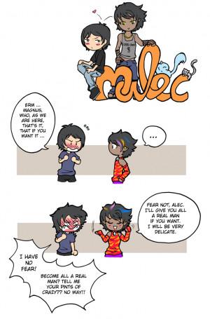 Alec and Magnus - Alec & Magnus Fan Art (29367127) - Fanpop fanclubs