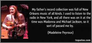 My father's record collection was full of New Orleans music of all ...