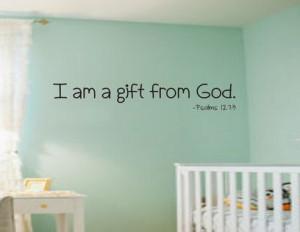 - Baby Nursery KJV Scripture Vinyl Lettering Wall Words Decal Bible ...