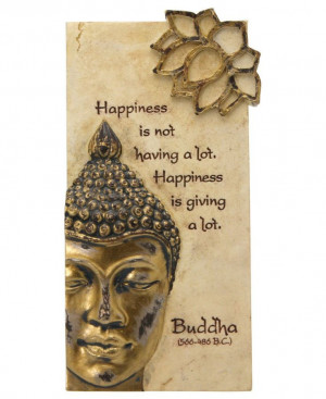 Hand painted Buddha quote wall art. Buddha wall art available at ...
