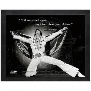 Elvis presley wise man says