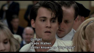 Wade Walker better known as Cry-Baby - Cry-Baby (1990)