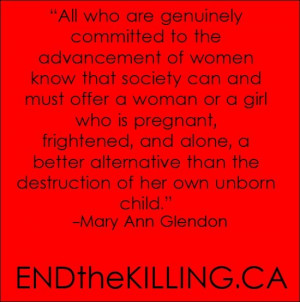 Mary Ann Glendon quote