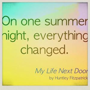 ... night, everything changed.