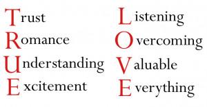 Meanings of True Love