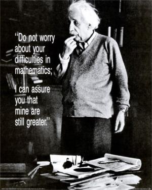 ... found out Albert Einstein did not fail at mathematics in school
