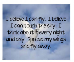 Ingram - I Believe I Can Fly - song lyrics, music lyrics, music quotes ...