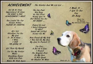 My Beagle Smiles, My Poems, My Quotes, Scleroderma And Me
