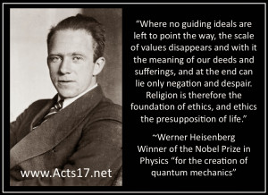 Werner Heisenberg on Religion