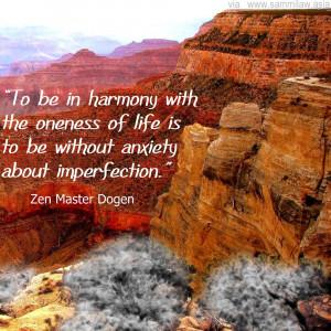Zen Master Dogen Quote