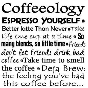Friends don't let friends drink bad coffee!!! https://www.facebook.com ...