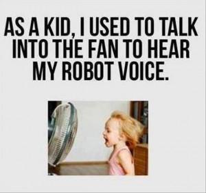 Funny childhood memory…..it's still funto do