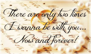 wanna be with you forever quotes