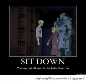 FULLMETAL ALCHEMIST Anime quotes Funny