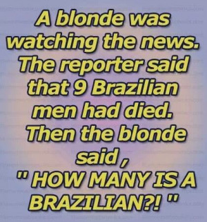 blonde joke! #humor #funny