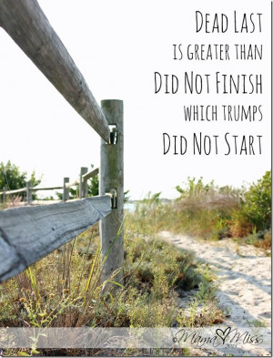 ... monday: Quote Art {dead last} @mamamissblog #quote #running