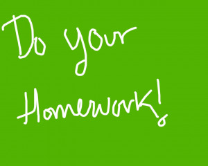 1280x1024 Do your homework desktop PC and Mac wallpaper