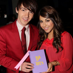 Drake Bell And Daniella Monet Visit Planet Hollywood