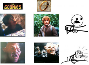 Funny photos funny The Goonies Lord Of The Rings movies
