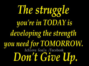 Life Struggles Quotes About life str.