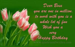 happy birthday wish boss Happy Birthday wishes for Boss, Sir, Leader ...
