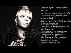 Mary J Blige - lyrics & quotes ♫♫♫