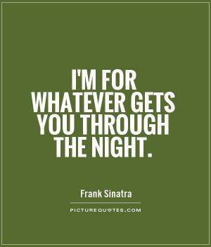 Night Quotes Frank Sinatra Quotes
