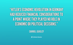 Hitler Quotes About Germany Economy