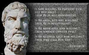 Religious - Anti Religious God Epicurus Philosophy Wallpaper